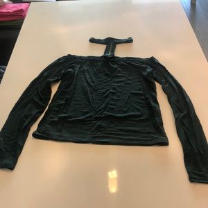 Dynamite Tops - Emerald long sleeve shirt